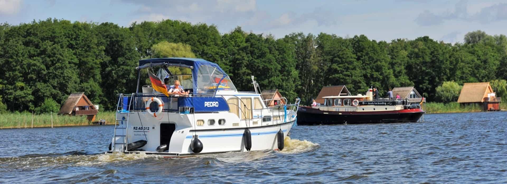 Bootsverleih an der Müritz